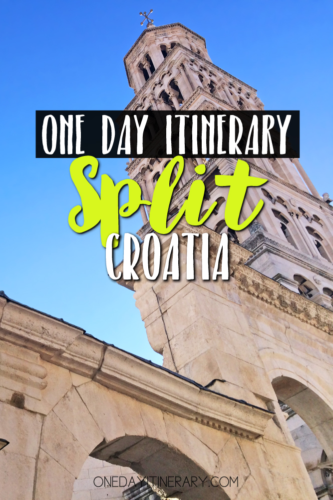 Split Croatia One day itinerary