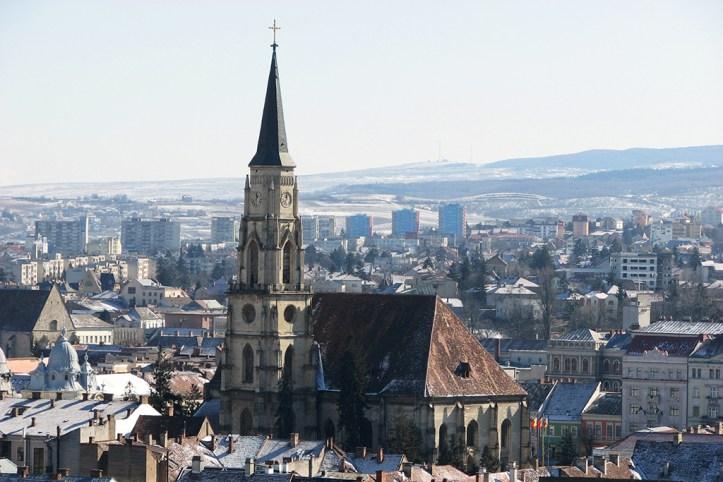 Cluj-Napoca in Winter