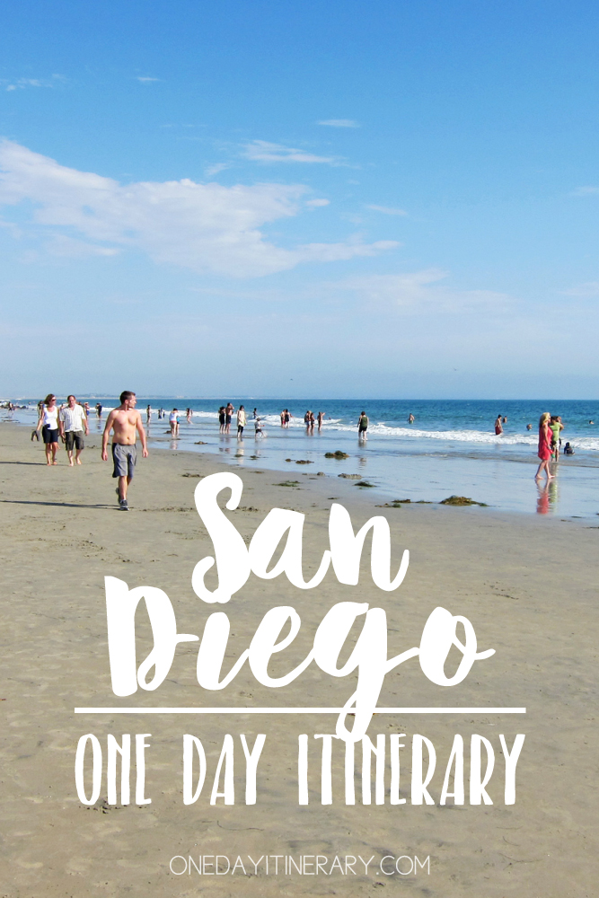 San Diego California One day itinerary
