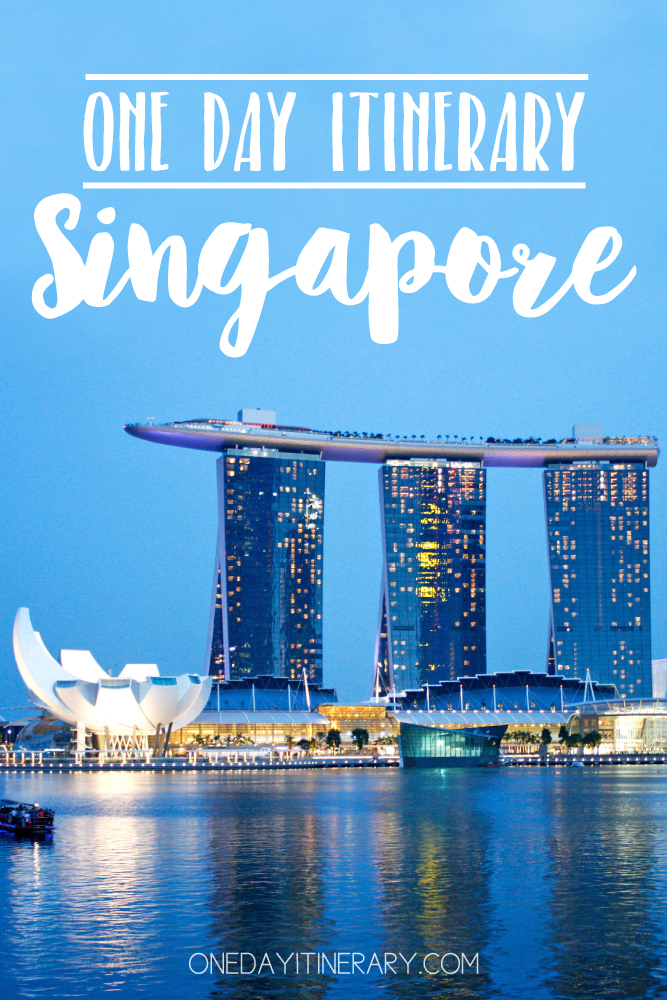 Singapore One day itinerary