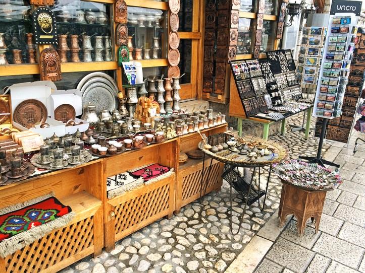 Bascarsija Bazaar shops