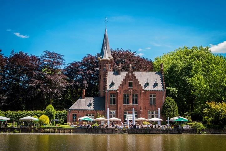Bruges in summer