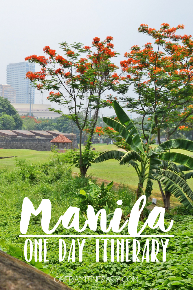Manila The Philippines One day itinerary