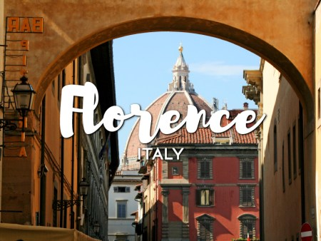 One day in Florence Itinerary