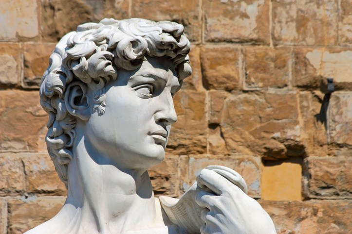 Replica of Michelagelo's David, Florence