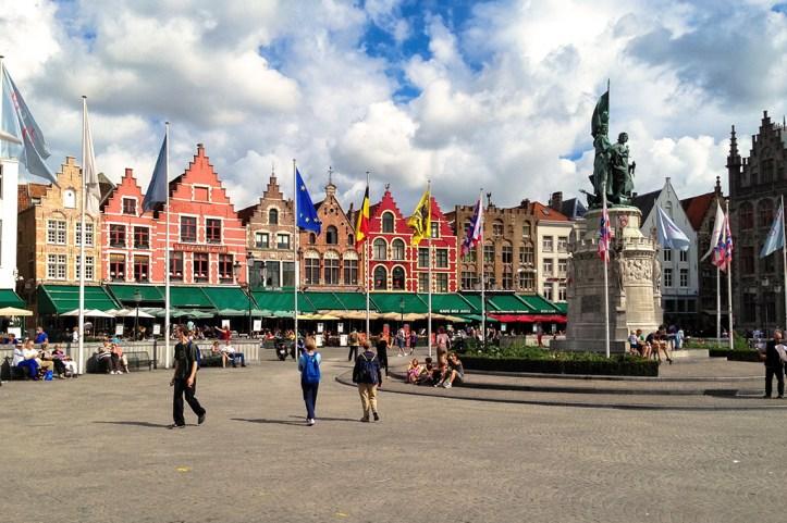 Eiermarkt, Bruges