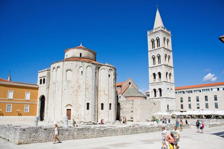 Forum and Saint Donatus Zadar