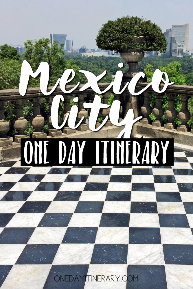 Mexico City Mexico One day itinerary