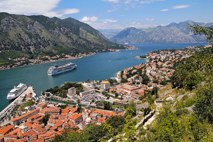 San Giovanni fortress view, Kotor