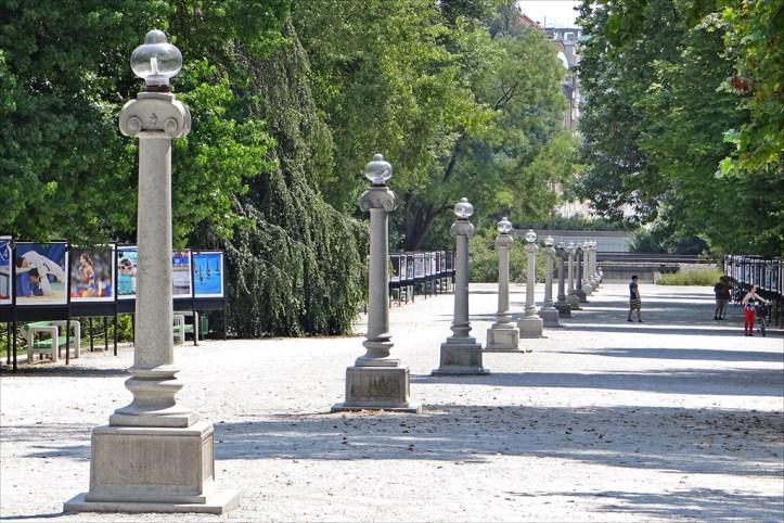 Tivoli Park in Ljubljana