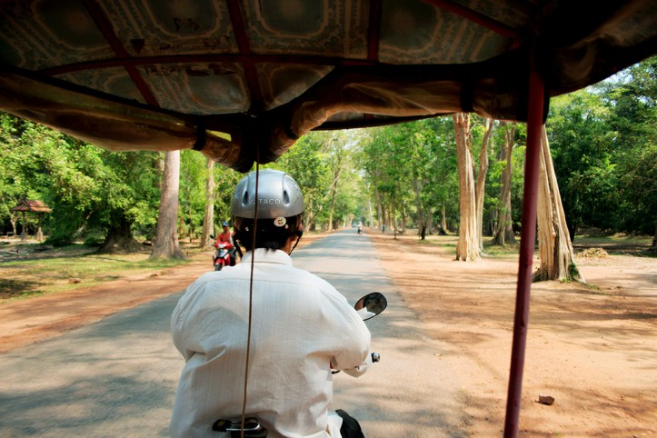 Tuk tuk driver, Siem Reap