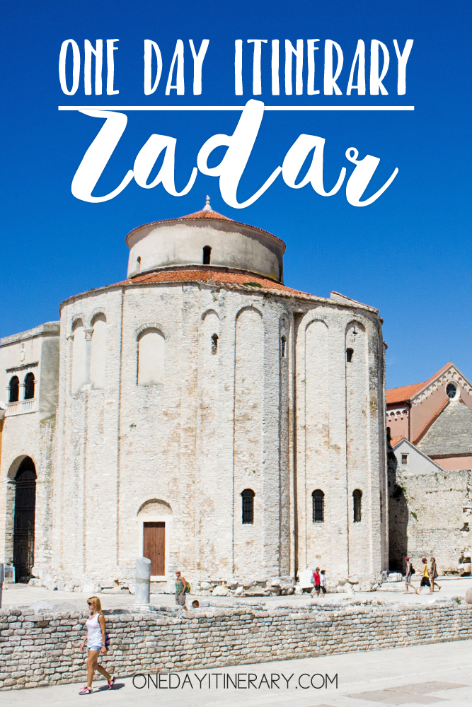 Zadar Croatia One day itinerary