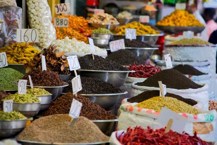 Khari Baoli spices, Delhi