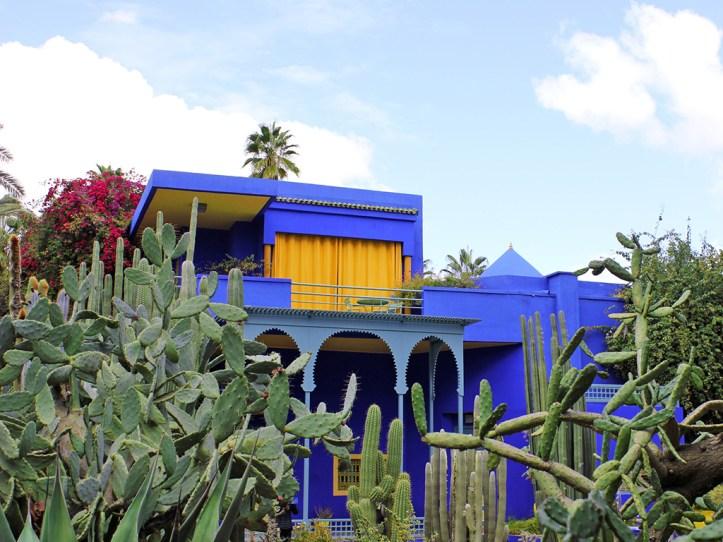 Majorelle Garden Blue House