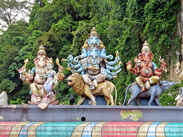 Statues at Batu Caves