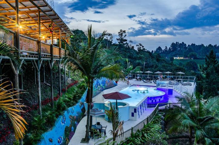 Hotel Santa Maria de las Aguas Penol