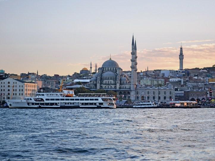 Istanbul Sea Panorama