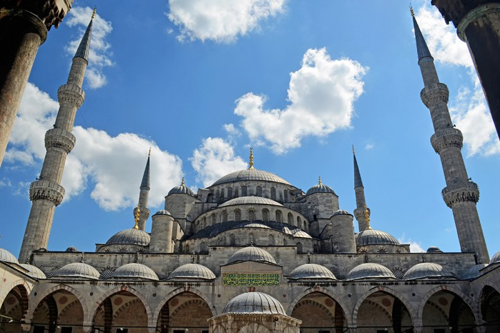 The Sultanahmet Mosque Blue Mosque Istanbul