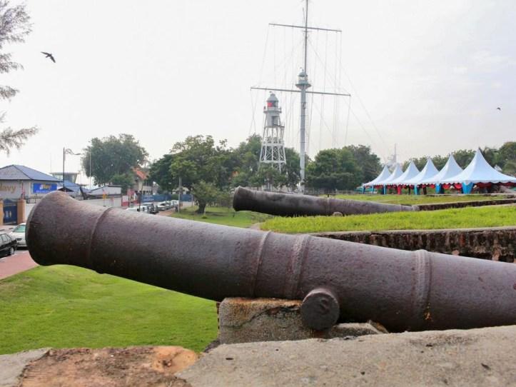 British era at Fort Cornwallis