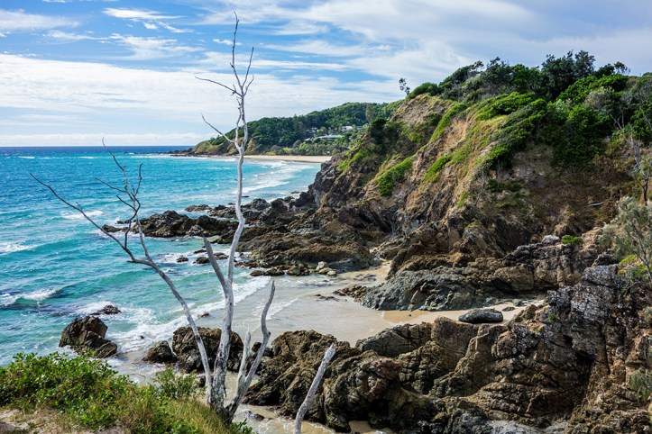 Hidden beaches of Byron Bay