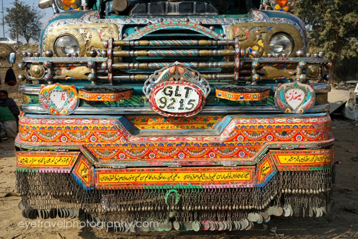 Colorful Trucks in Islamabad