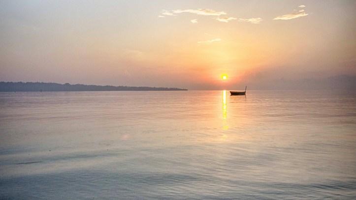 Sunrise in Andaman Islands