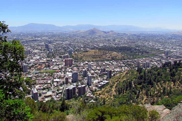 Cerro San Cristobal, Santiago