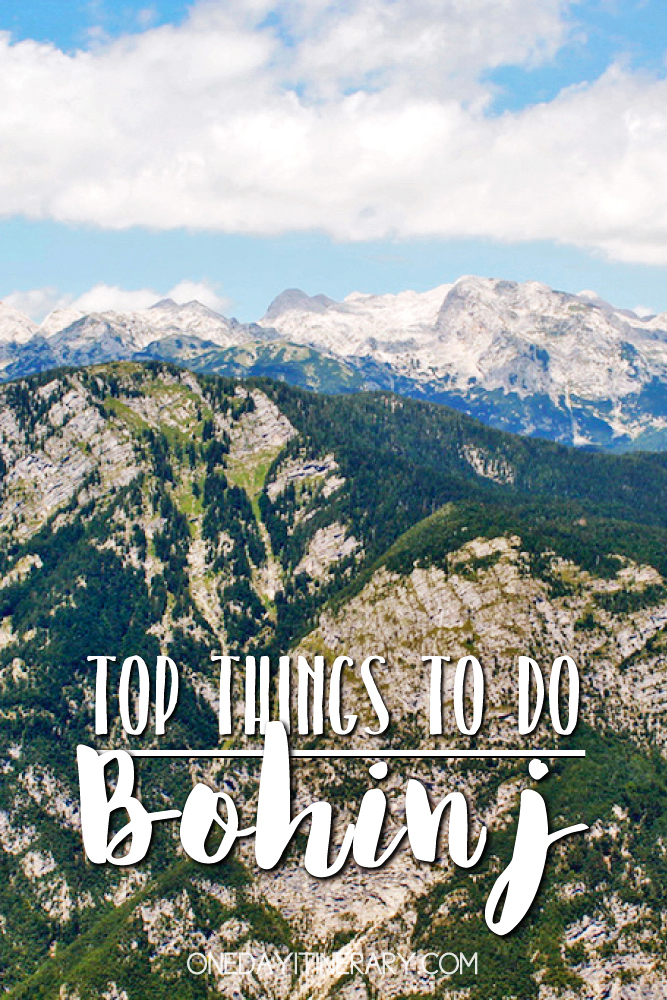 Bohinj Slovenia Top things to do