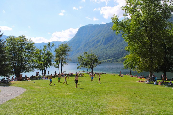Lake Bohinj from John Baptism
