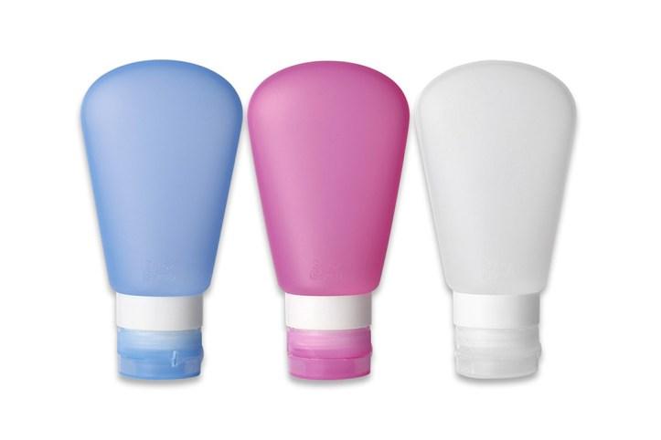 Kitdine Portable Soft Silicone Travel bottles Set