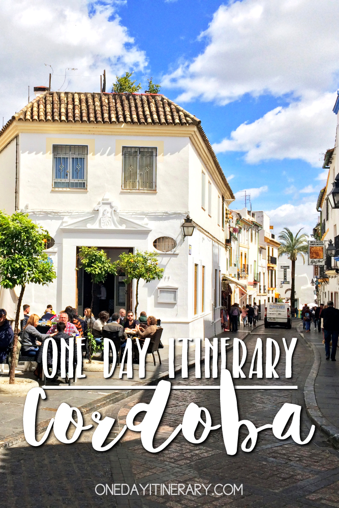 Cordoba Spain One day itinerary