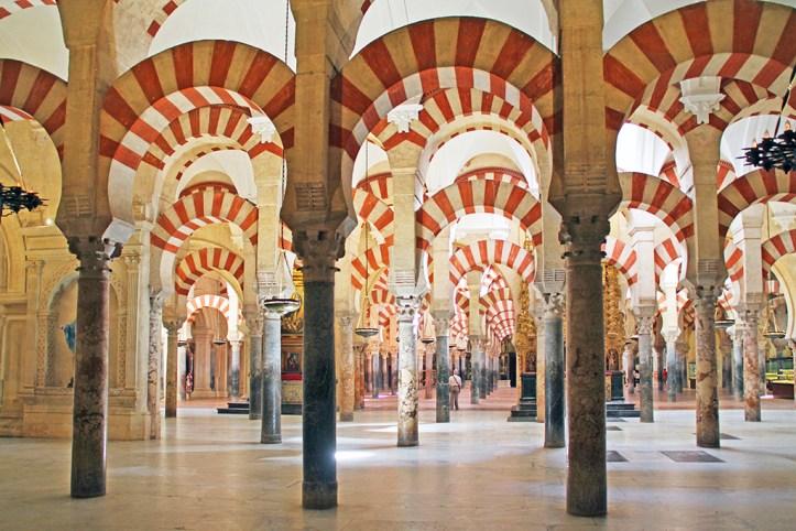 Mezquita Mosque-Cathedral Interior