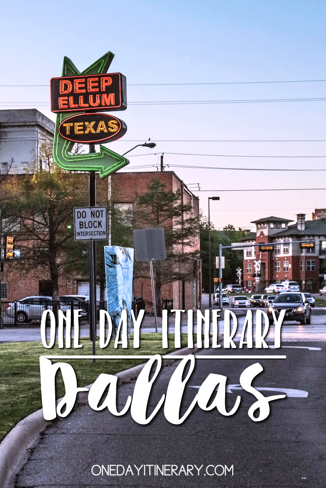Dallas Texas One day itinerary