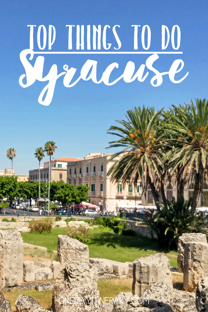 Syracuse Italy Top things to do