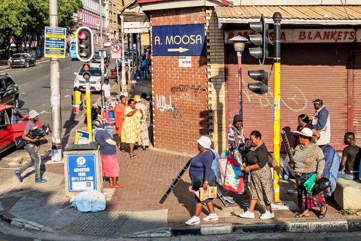 Downtown Johannesburg street