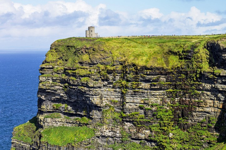 Cliffs of Moher and O'Brien's Tower