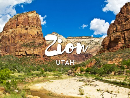 One day in Zion Itinerary