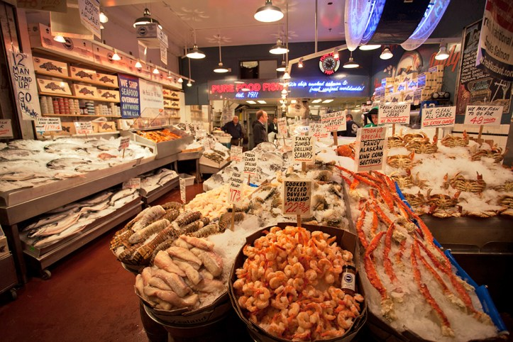 Pike Place Market Food