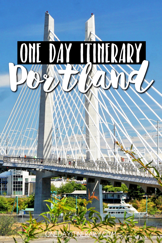 Portland, Oregon - One day itinerary