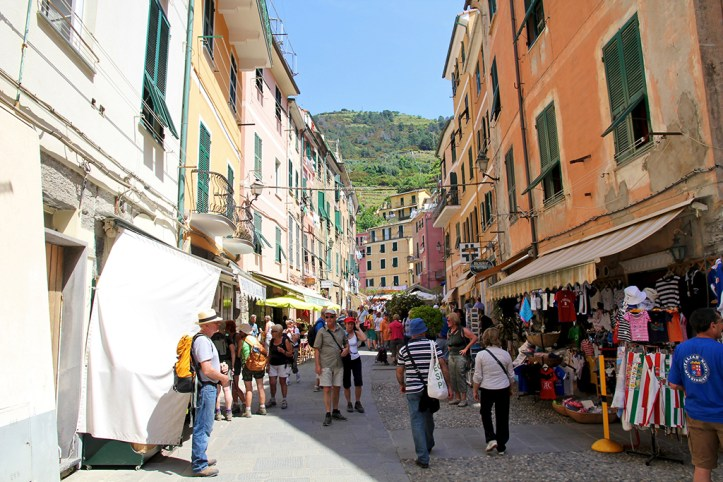 Streets of Vernazza
