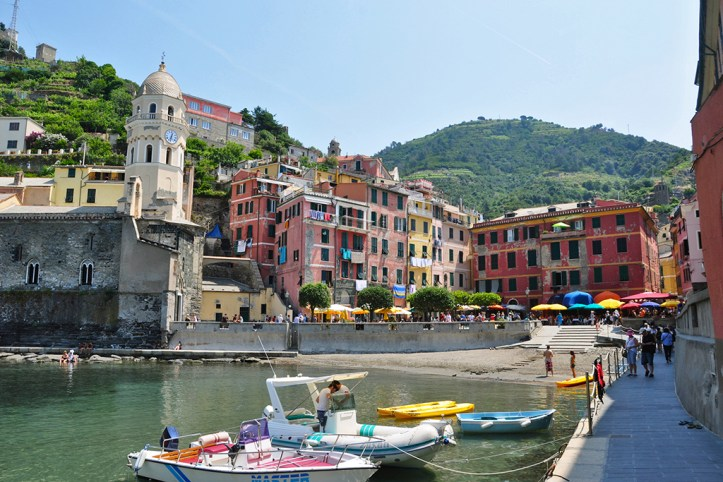 Vernazza Beach