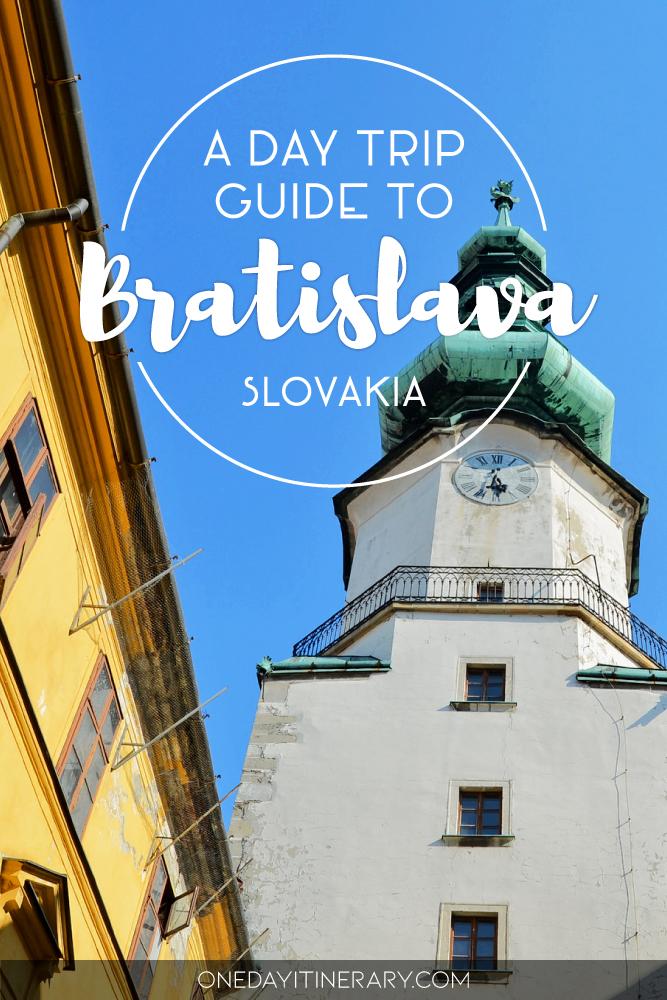 A day trip guide to Bratislava, Slovakia
