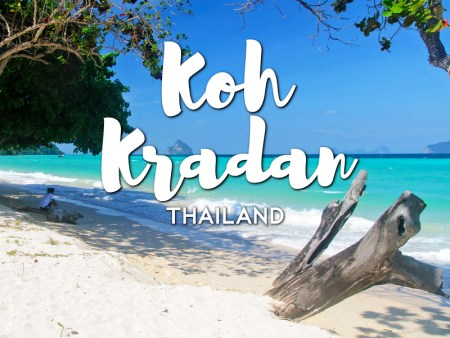 One day in Koh Kradan Itinerary