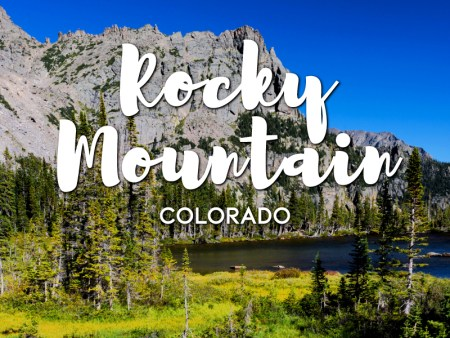 One day in Rocky Mountain National Park Itinerary
