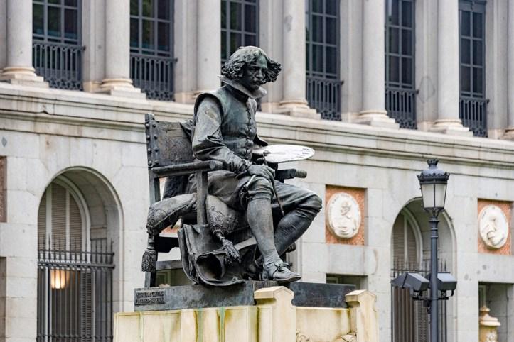 Goya Statue