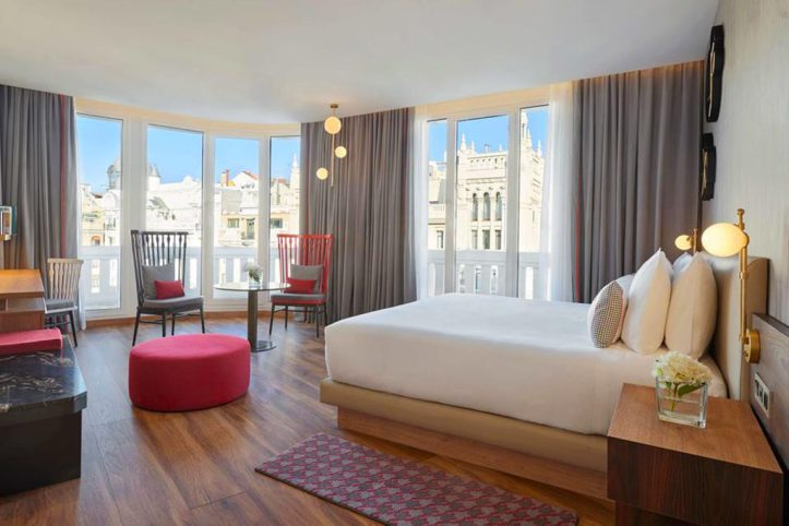 Hyatt Centric Gran Via Madrid Room