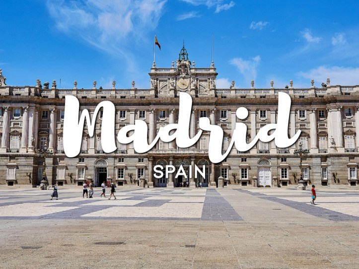 One day in Madrid Itinerary