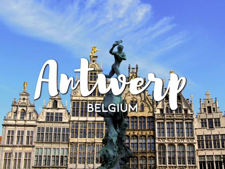 One day in Antwerp Itinerary