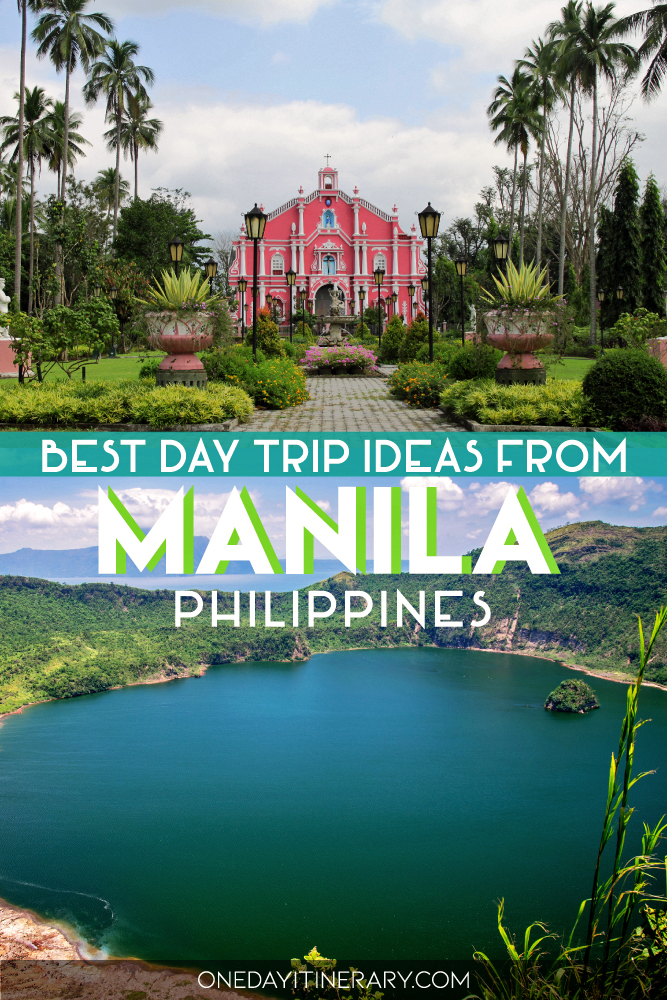Best day trip ideas from Manila, Philippines