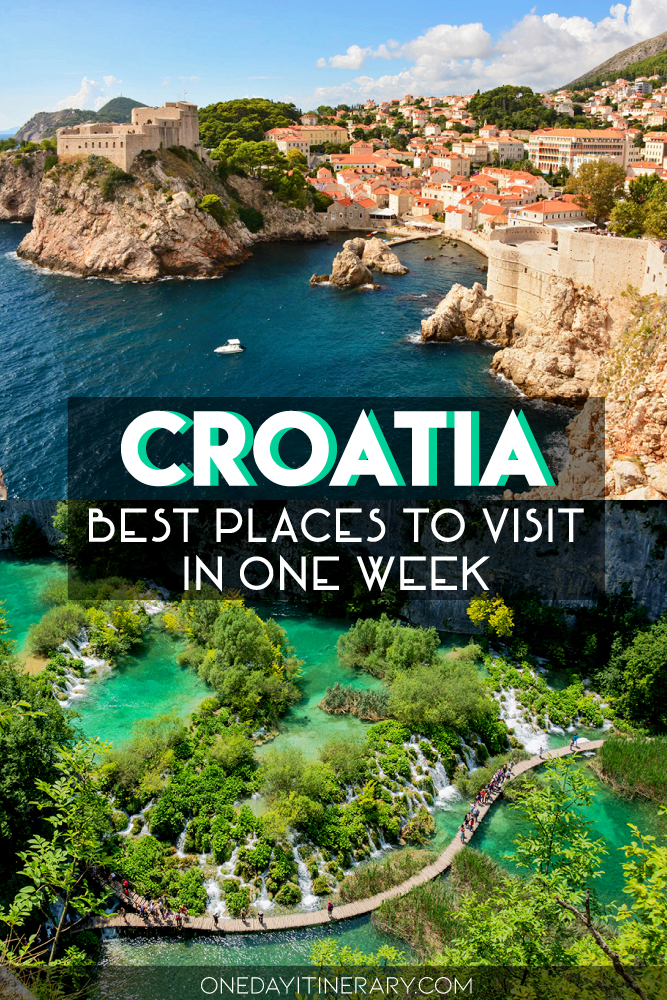 Croatia - Best places to visit in one week